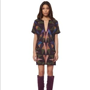 NWT Mara Hoffman Compass Olive Tunic Dress Sz M